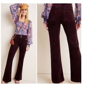 🟢 NWT Anthropologie Pilcro High Rise Plum Jeans